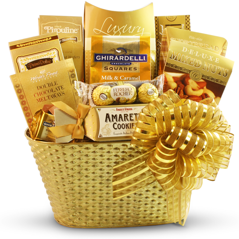 5 Star Business Chocolate Gift Basket