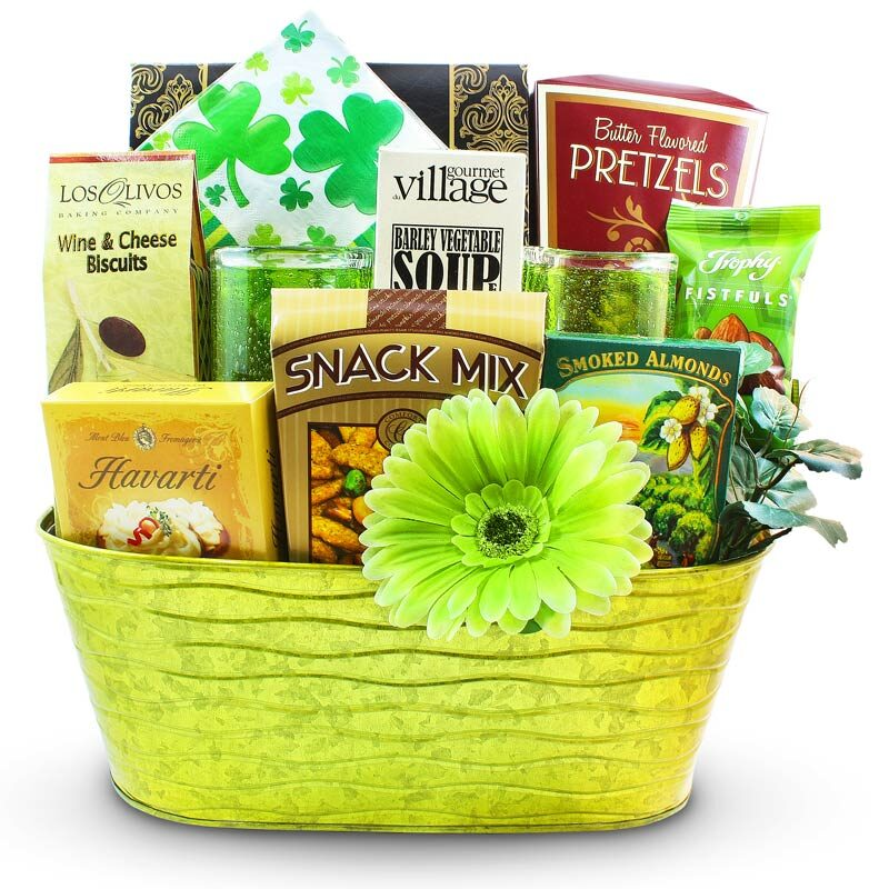 Kiss Me I'm Irish - St. Patrick's Day Gift Basket