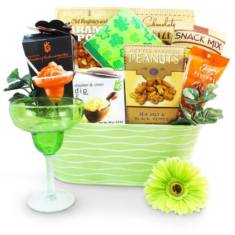 St. Patrick's Day Lady's Style - St. Patrick's Day Gift Basket