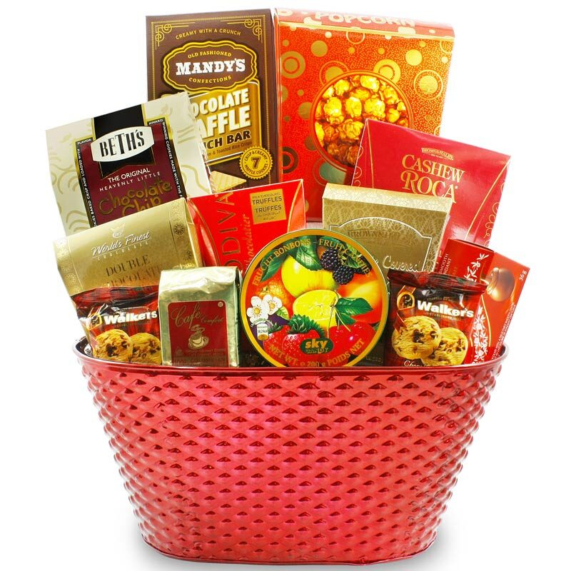 Assorted Gourmet Sweets Gift Basket