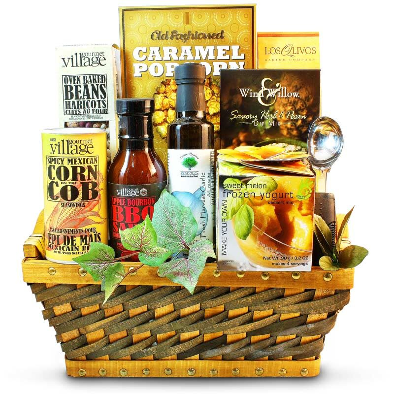 Summer Party Gourmet Barbecue Basket