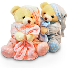 Dreamy Musical Baby Boy Bear - Soft Plush