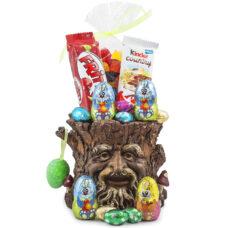 Tree Trunk Planter Easter Chocolate Treats