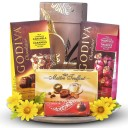 Luxury Fragrant Flower Diffuser and Godiva Chocolates
