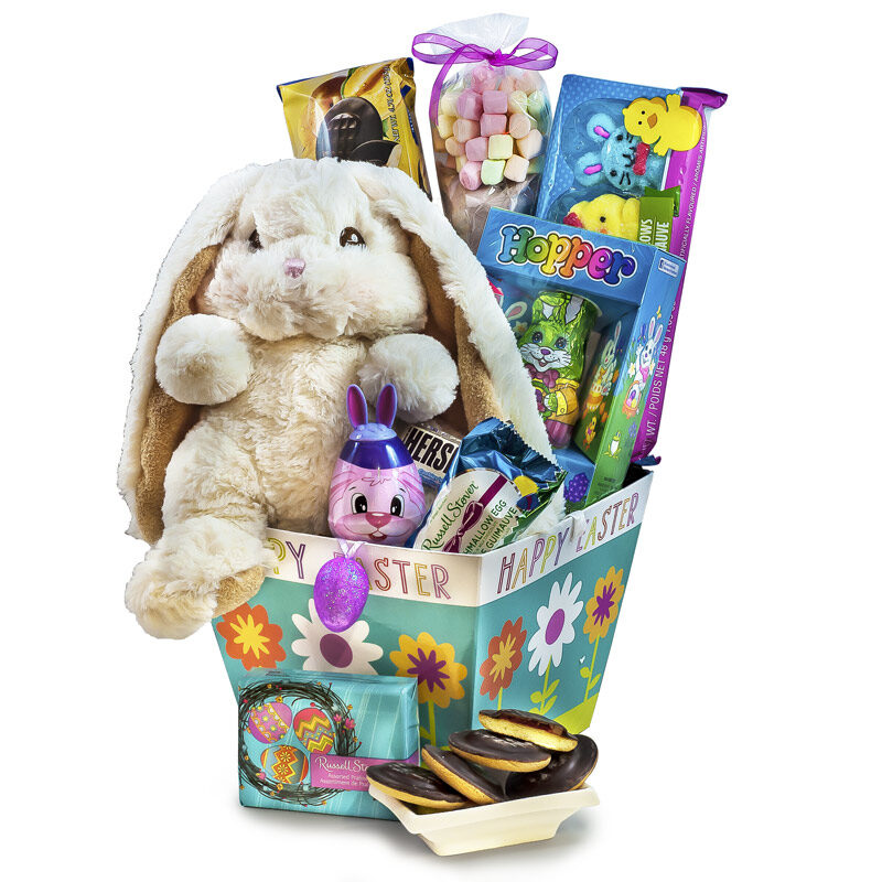 Happy easter egg hunt easter bunny delivery albertagourmet gift happy easter egg hunt negle Images