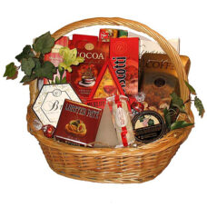 Heavenly Goodies - Gourmet Sympathy Gift Basket