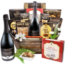 Virgin Brut Sparkling Wine and Gourmet Snacks - Alcohol Free