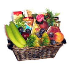 Farmer's Bounty Fruits, Cheese & snacks basket - Medium