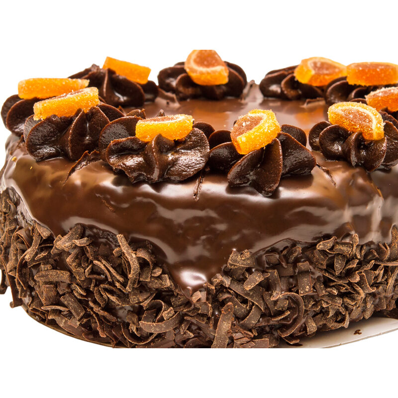 Orange Marmalade Chocolate Cake