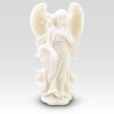 Ivory Seraphim Angel Figurine Sympathy Gift Basket