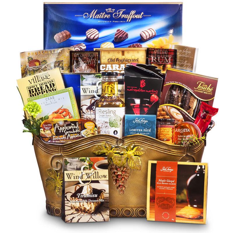 Divine Feast Exquisite Gourmet Gift Basket