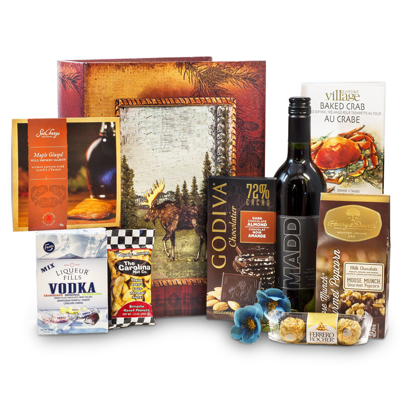 Gentleman's Premier Gourmet Moose Box - Non Alcoholic Wine