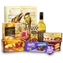 Ladies' Premium Gourmet Rose Box - Non Alcoholic Wine