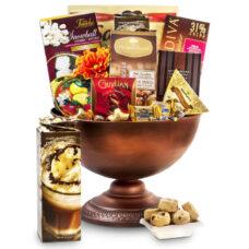 Elegant Offerings - Attractive Chocolate Gift Basket