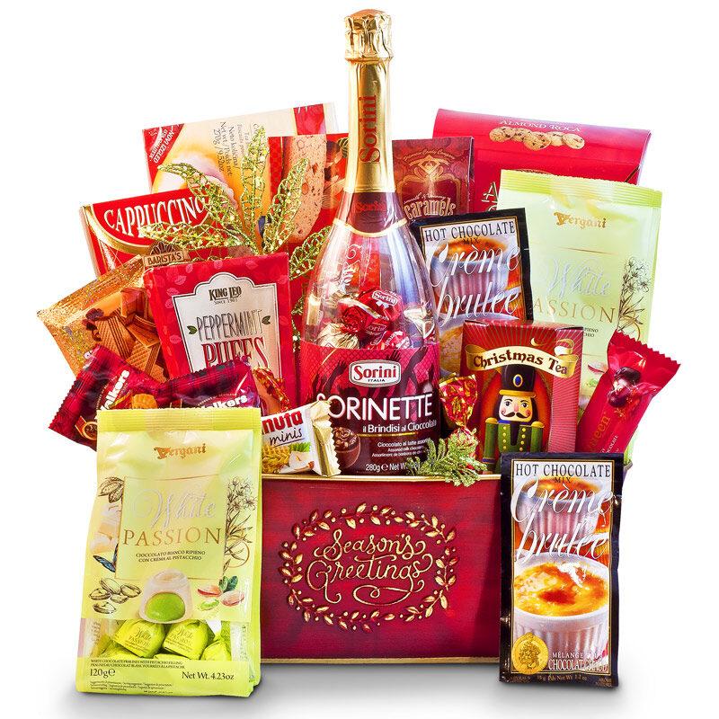 Season's Greetings – Holiday Gourmet Sweet Basket
