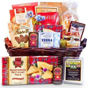 Traditional Favorites Sympathy Gift Basket