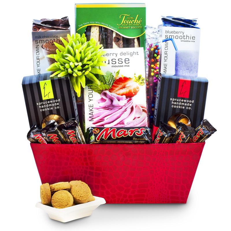 Canadian Gourmet Food Nut Free Gift Basket - Large| Gourmet Gift ...