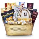 Sympathy Gift Basket With Angel Frame