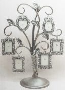 Family Tree Pewter Photo Holder