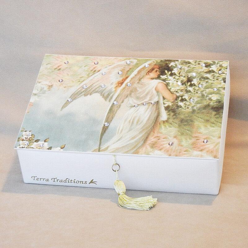 Angel of Spring Keepsake Box - Swarovski Crystals
