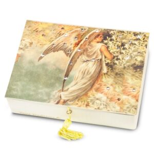 Angel of Spring Keepsake Box