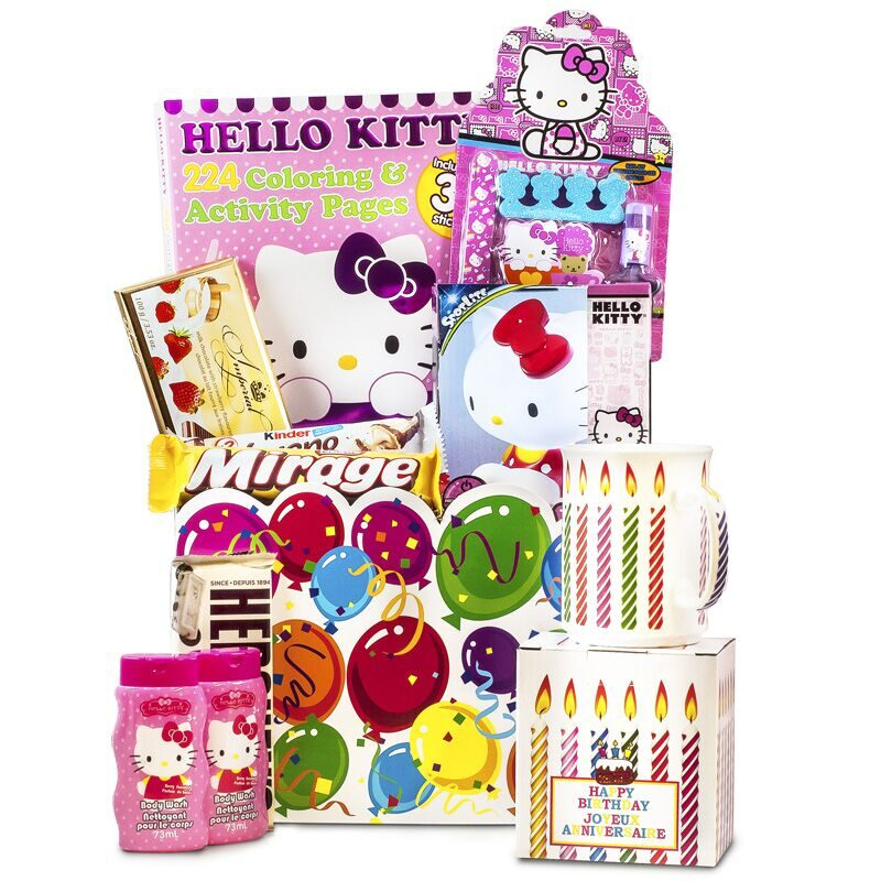 Hello Kitty with Birthday Mug