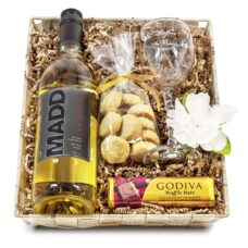Mother of the Bride Wine & Glass Gift Set
