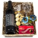Father of the Bride Wine & Glass Gift Set