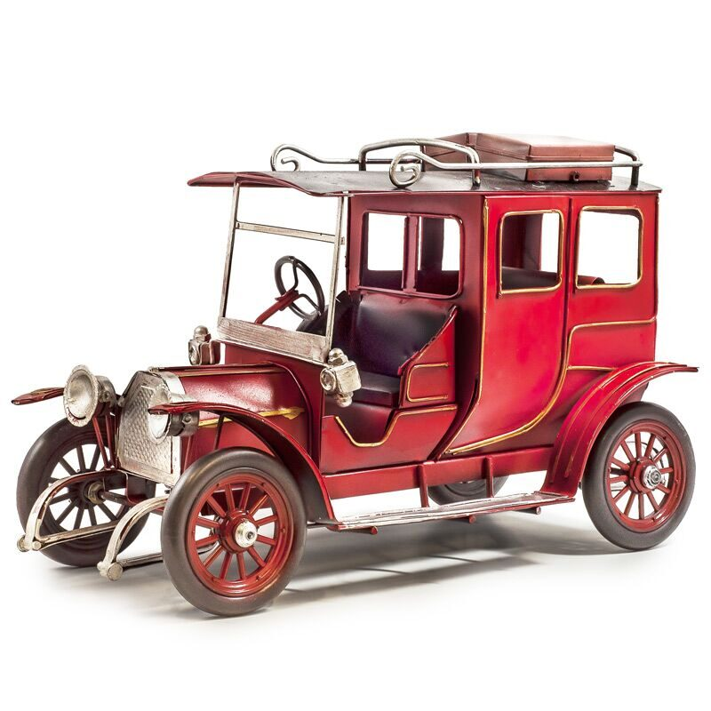 Vintage Style Metal Car - Collectable Gifts for Men