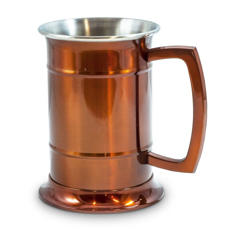 Two tone copper tankard gifts for men canadagourmet