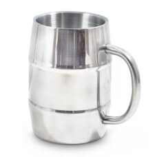 Barrel Mug - Stainless Steel