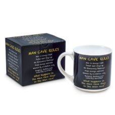Inscription Mug Man Cave Rules - Gifts for Men