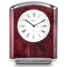 Cherry Wood Circa Table Clock