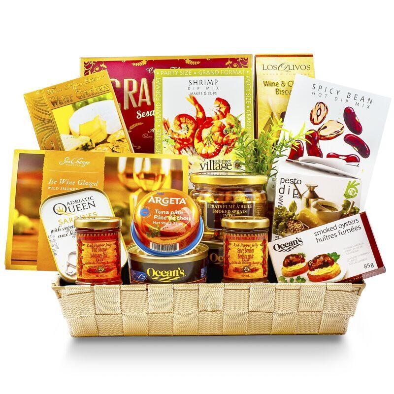 ... Ocean Breeze - Seafood Gift Basket