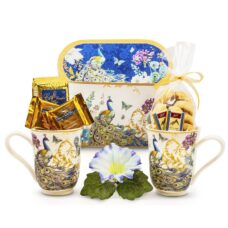Peacock Mugs Gift Set