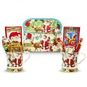 Santa Mugs and Hot Chocolates