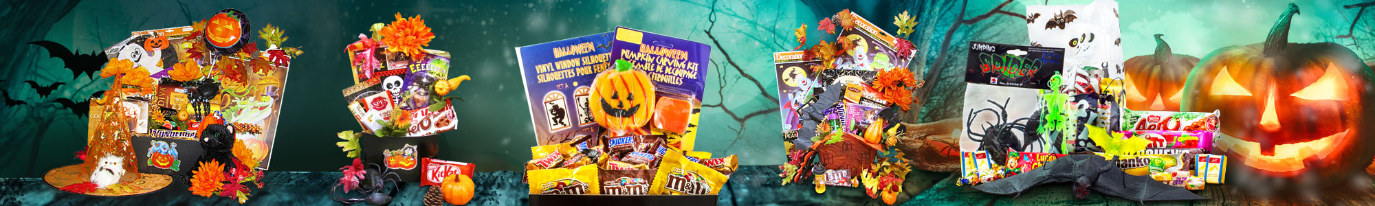 Halloween Gift Baskets by Gourmet Gift Basket Store