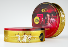 Christiano Ronaldo CR7 Limited Edition Tin Butter Cookies