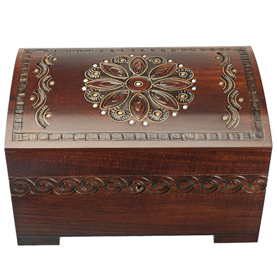 Majestic Trunk with Lock and Key