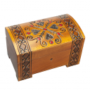 Hearts & Diamonds Chest with Lock and Key