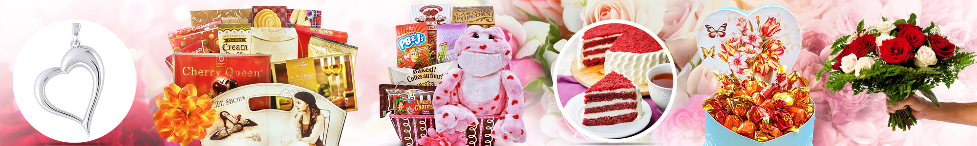 Valentine's Day gifts by Gourmet Gift Basket Store