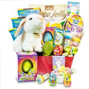 Bunny Hop Easter Gift Basket