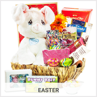 Easter chocolate gift baskets by gourmet gift basket storegourmet easter gift baskets negle