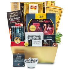 Cristiano Ronaldo Football Gift basket