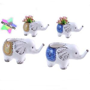 elephant flower pot