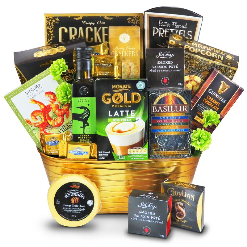 Elite Treatment. $125.50. A luxurious gift basket with delectable gourmet Guinness ...