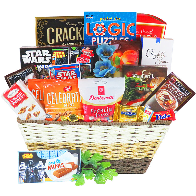 Star Wars Puzzle Gift Basket