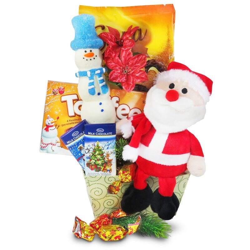 Santa Plush Gift Package