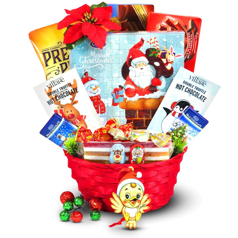 Children's Christmas Basket