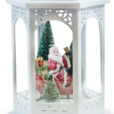 Santa Lantern Led Light 18""